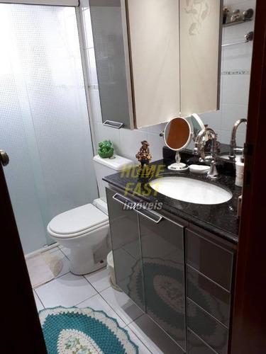apartamento residencial à venda, vila milton, guarulhos. - ap0878