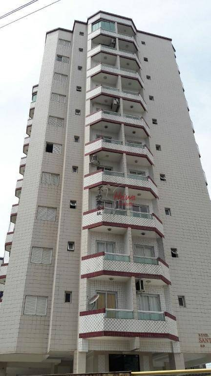 apartamento residencial à venda, vila mirim, praia grande. - ap0238