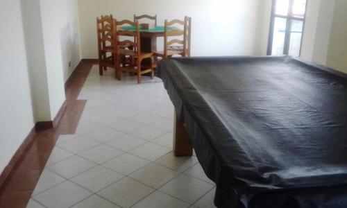 apartamento residencial à venda, vila mirim, praia grande. - ap0841