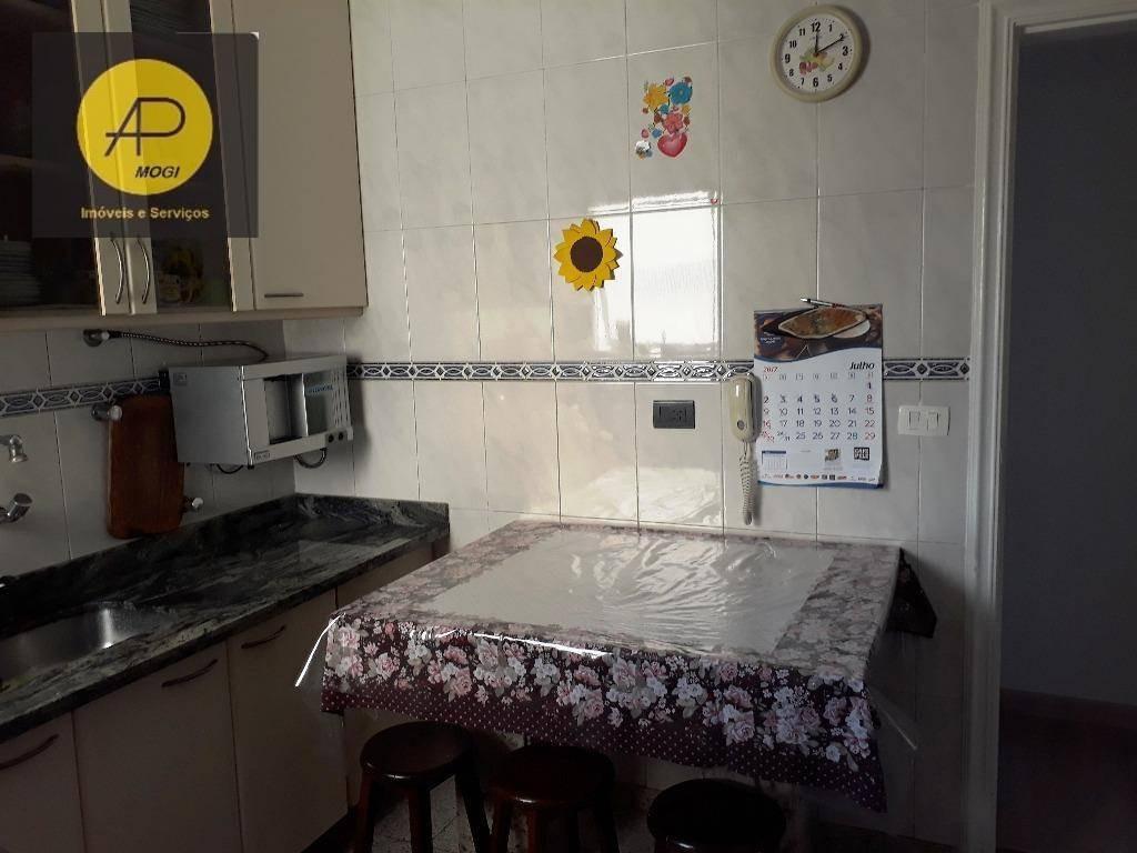 apartamento residencial à venda, vila mogilar, mogi das cruzes. - ap0087