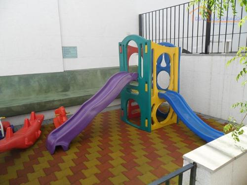 apartamento residencial à venda, vila monte alegre, são paulo. - ap1362