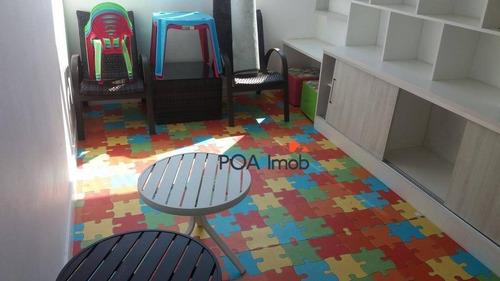 apartamento residencial à venda, vila monte carlo, cachoeirinha. - ap1457