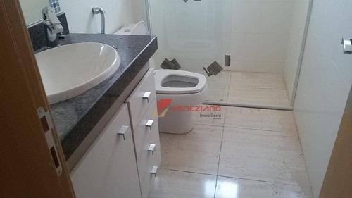 apartamento residencial à venda, vila monteiro, piracicaba. - ap0493
