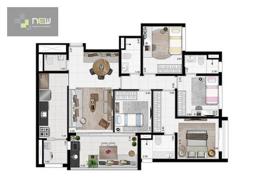 apartamento residencial à venda, vila monumento, são paulo. - ap0919