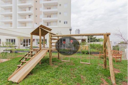 apartamento residencial à venda, vila monumento, são paulo. - ap3174