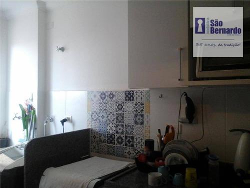 apartamento residencial à venda, vila nossa senhora de fátima, americana. - ap0154