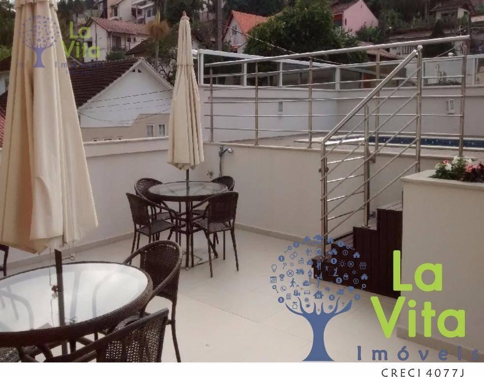 apartamento  residencial à venda, vila nova, blumenau. - ap0115