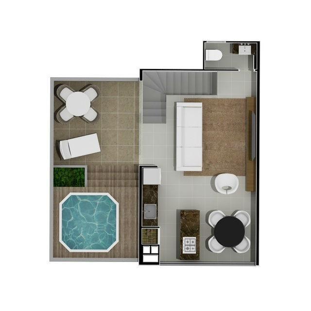 apartamento residencial à venda, vila nova, blumenau. - ap1970
