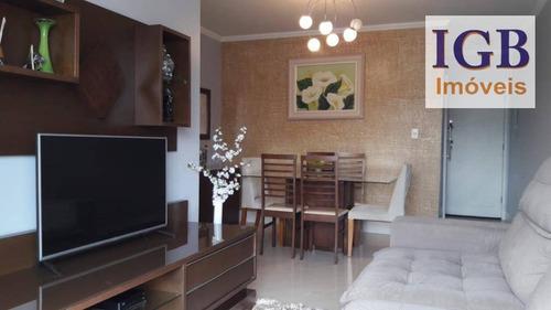 apartamento residencial à venda, vila nova cachoeirinha, são paulo - ap0136. - ap0136