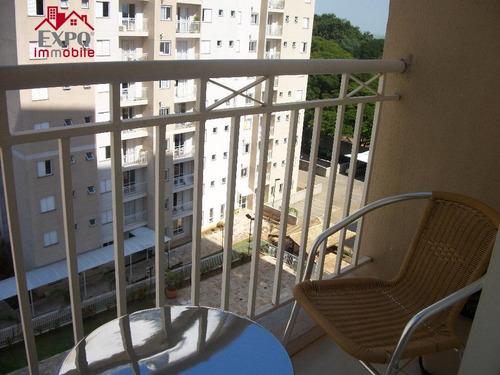 apartamento residencial à venda, vila nova, campinas. - ap0390