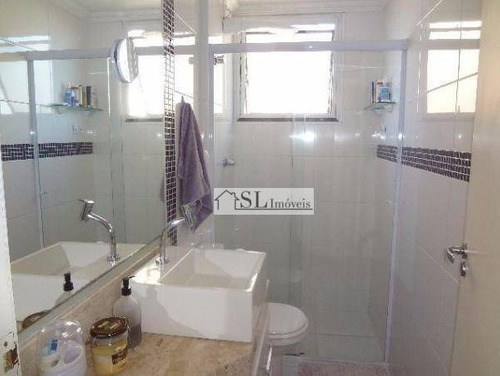 apartamento residencial à venda, vila nova, campinas. - ap0520