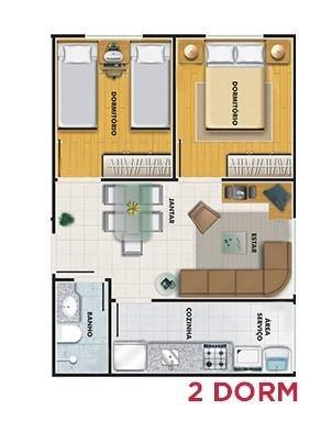apartamento residencial à venda, vila nova curuçá, são paulo. - ap7615