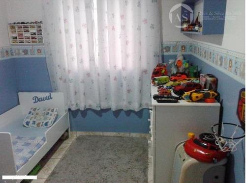 apartamento residencial à venda, vila nova curuçá, são paulo. - codigo: ap0332 - ap0332