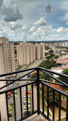 apartamento residencial à venda, vila nova esperia, jundiaí. - ap0272