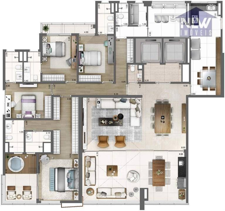 apartamento residencial à venda, vila olímpia, são paulo. - ap0507