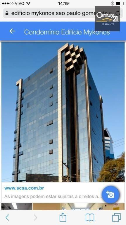 apartamento residencial à venda, vila olímpia, são paulo - ap3978 - ap3978