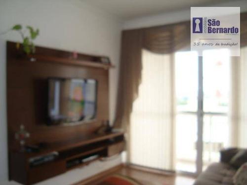 apartamento residencial à venda, vila omar, americana. - ap0284