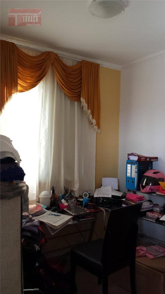 apartamento  residencial à venda, vila palmares, santo andré. - ap0212