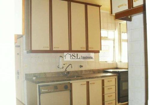 apartamento residencial à venda, vila paraíso, campinas. - ap0413