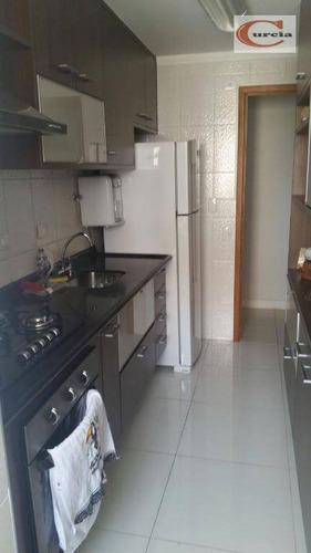 apartamento residencial à venda, vila parque jabaquara, são paulo. - ap4186