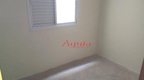 apartamento residencial à venda, vila pires, santo andré. - ap1259