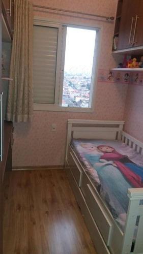 apartamento residencial à venda, vila prudente, são paulo. - ap0809