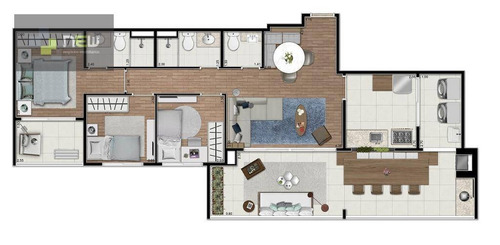 apartamento residencial à venda, vila prudente, são paulo. - ap0922