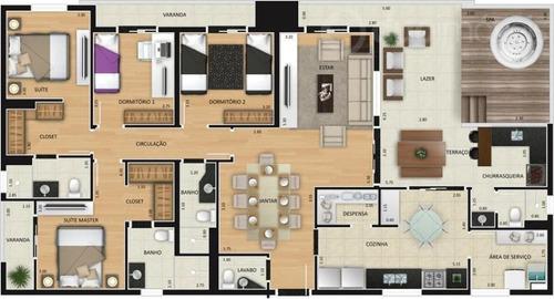 apartamento residencial à venda, vila rezende, piracicaba. - ap0319