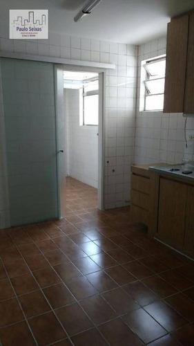 apartamento residencial à venda, vila romana, são paulo. - ap0094