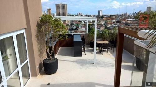 apartamento residencial à venda, vila rosália, guarulhos. -
