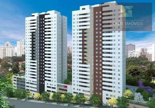 apartamento residencial à venda, vila rosalia, guarulhos - ap2681. - ap2681