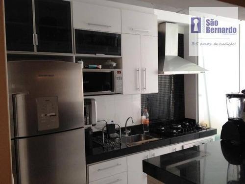 apartamento residencial à venda, vila santa catarina, americana. - ap0699
