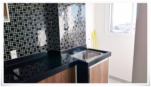 apartamento residencial à venda, vila santa catarina, americana. - codigo: ap0167 - ap0167