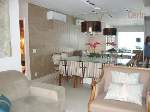 apartamento residencial à venda, vila sfeir, indaiatuba. - ap0088