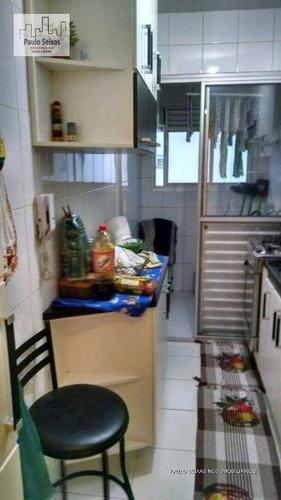 apartamento residencial à venda, vila siqueira (zona norte), são paulo. - ap0024
