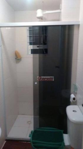 apartamento residencial à venda, vila são carlos, itaquaquecetuba. - ap0284