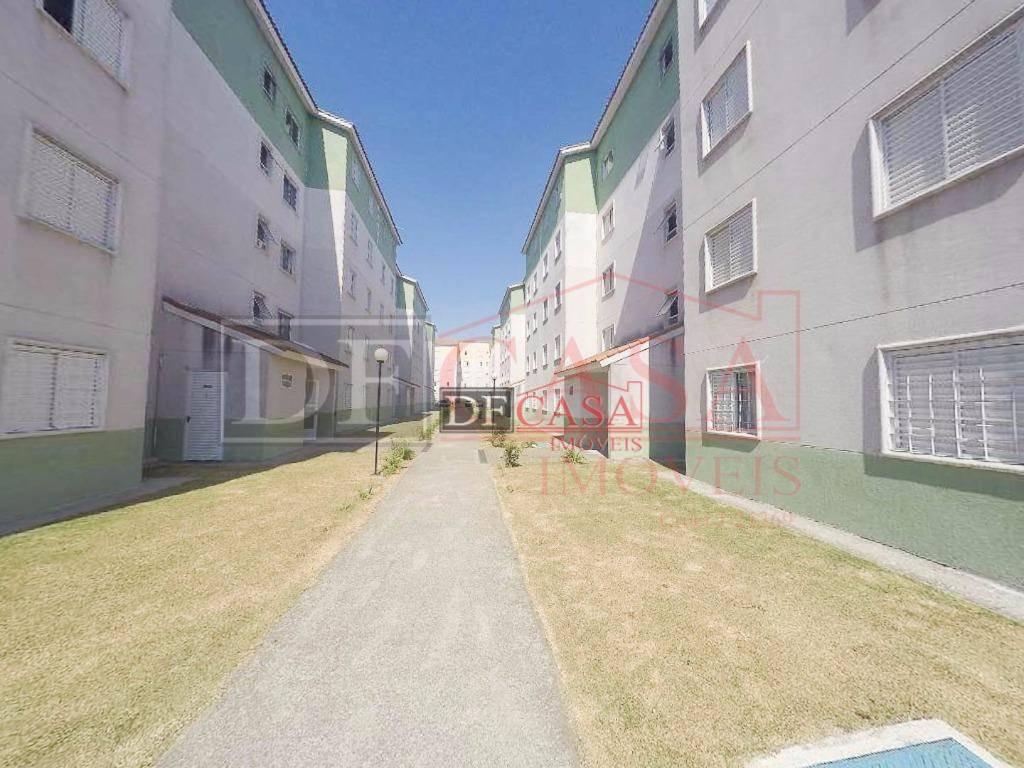 apartamento residencial à venda, vila são carlos, itaquaquecetuba. - ap3423