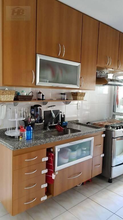 apartamento residencial à venda, vila são francisco, osasco. - ap3004