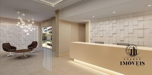 apartamento residencial à venda, vila são francisco (zona sul), são paulo. - ap0827