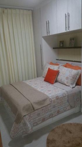 apartamento residencial à venda, vila são pedro, santo andré. - ap1178