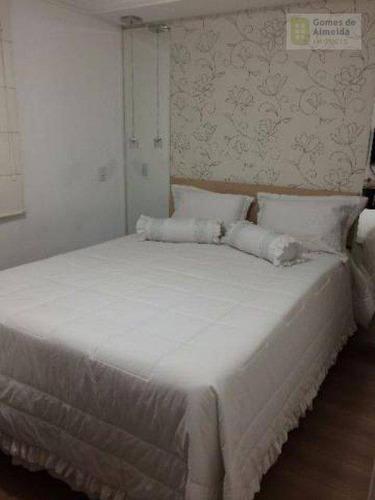 apartamento residencial à venda, vila são pedro, santo andré - ap1825. - ap1825
