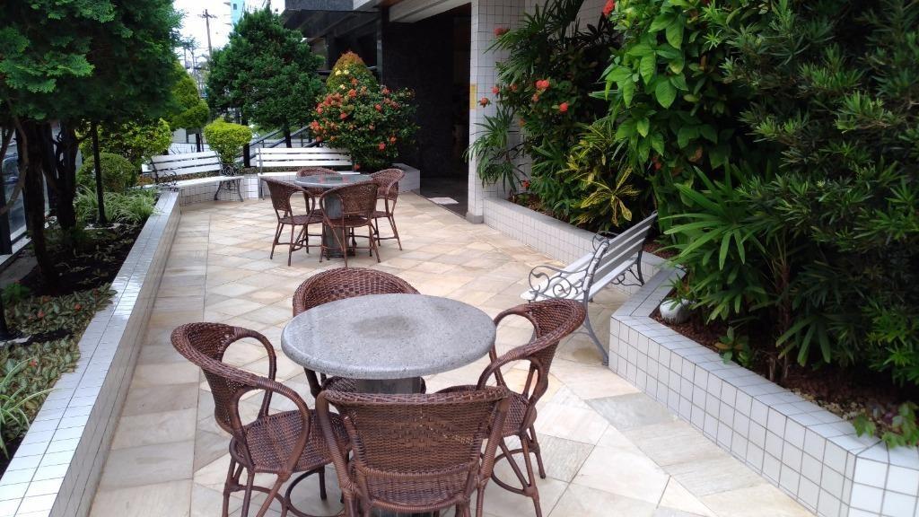 apartamento residencial à venda, vila tupi, praia grande. - ap0024