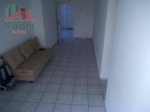 apartamento residencial à venda, vila tupi, praia grande. - ap0038