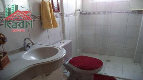 apartamento residencial à venda, vila tupi, praia grande. - ap0101