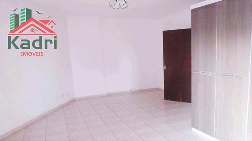 apartamento residencial à venda, vila tupi, praia grande. - ap0106