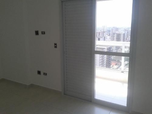 apartamento residencial à venda, vila tupi, praia grande. - ap0129