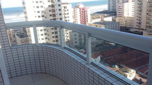apartamento residencial à venda, vila tupi, praia grande. - ap0134