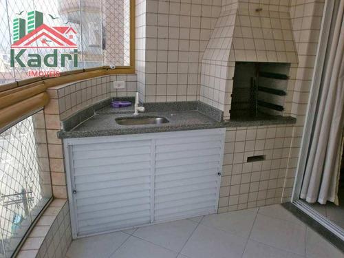 apartamento residencial à venda, vila tupi, praia grande. - ap0191