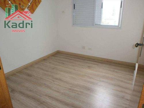 apartamento residencial à venda, vila tupi, praia grande. - ap0233