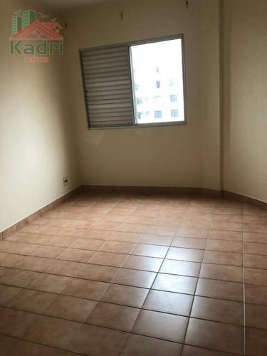 apartamento residencial à venda, vila tupi, praia grande. - ap0332